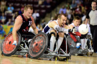 Quad Rugby or Wheelchair Rugby